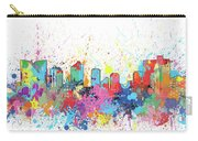 Fort Worth Skyline Artistic Carry-all Pouch