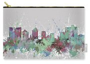 Fort Worth Skyline Artistic Pastel Carry-all Pouch