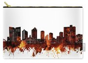Fort Worth Skyline Brown Carry-all Pouch