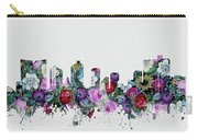 Fort Worth Skyline Floral 2 Carry-all Pouch