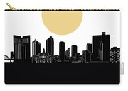 Fort Worth Skyline Minimalism Carry-all Pouch