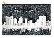 Fort Worth Skyline Music Sheet 2 Carry-all Pouch