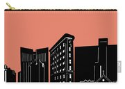 Fort Worth Skyline Panorama Red Carry-all Pouch