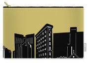 Fort Worth Skyline Panorama Yellow Carry-all Pouch