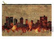 Fort Worth Skyline Vintage 2 Carry-all Pouch
