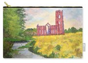 Fountains Abbey In Yorkshire Through Japanese Eyes Carry-all Pouch