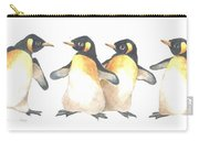 Four Penguins Carry-all Pouch