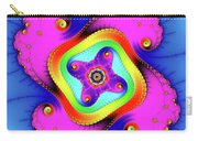 Fractal Art With Bold Colors Square Carry-all Pouch