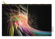 Fractal Beauty Deluxe Colorful Carry-all Pouch by Don Northup