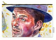 Frank Sinatra Singing Carry-all Pouch
