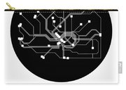 Frankfurt Black Subway Map Carry-all Pouch