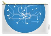 Frankfurt Blue Subway Map Carry-all Pouch