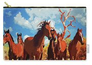 Free Spirits Carry-all Pouch by Mark Allen