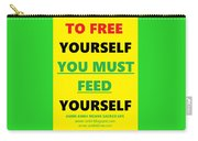 Free Yourself Carry-all Pouch