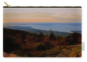 Frenchman's Bay From Cadillac Mountain Digital Photo Art Carry-all Pouch