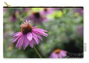Frilly Hat Echinacea Carry-all Pouch