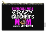 Funny Crazy Baseball Catchers Mom Design  Carry-all Pouch