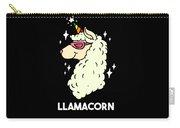 Funny Llamacorn Unicorn Alpaca Lama Carry-all Pouch