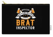 Funny Official Oktoberfest Brat Inspector Bratwurst Carry-all Pouch