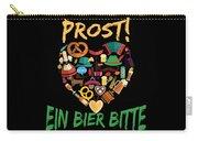 Funny Oktoberfest Prost Ein Bier Bitte Germany Carry-all Pouch