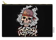 Funny Vapor Longsleeve Tshirt Serial Vapist Carry-all Pouch