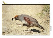 Gambel's Quail Dance Carry-all Pouch