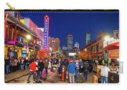 Game Night On Lansdowne Street 2018 World Series Red Sox Boston Ma 2 Carry-all Pouch