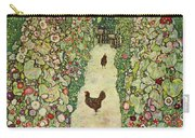 Garden With Chickens, 1916 Carry-all Pouch