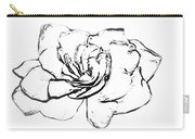 Gardenia Paint My Sketch Carry-all Pouch