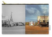 Gas Station - In The Middle Of Nowhere 1940 - Side By Side Carry-all Pouch