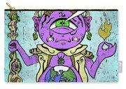 Gautama Buddha Colour Illustration Carry-all Pouch