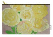 Gentle Yellow Bouquet Carry-all Pouch