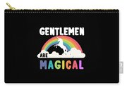 Gentlemen Are Magical Carry-all Pouch