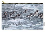 Gentoo Penguins By Alan M Hunt Carry-all Pouch