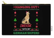 German Shepherd Ugly Christmas Sweater Xmas Gift Carry-all Pouch