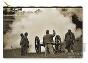 Gettysburg Battlefield - Confederate Artillerymen Firing Cannon Carry-all Pouch