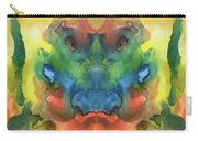 Ghost - Watercolor Painting On Paper Carry-all Pouch