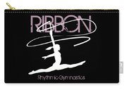 Girl Competing In Female Rhythmic Gymnastics Jumping With A Ribbon Carry-all Pouch