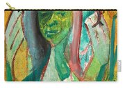 Girl In A Garden Carry-all Pouch