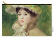 Girl With Yellow Cape, 1901 Carry-all Pouch