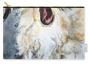 Gizmo Canine Caricature Carry-all Pouch by Ryn Shell