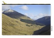glen in highlands known as  the Rest and be Thankful Carry-all Pouch