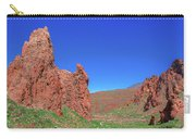 Glowing Red Rocks In The Teide National Park Carry-all Pouch
