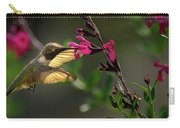 Glowing Wings Of A Hummingbird Carry-all Pouch