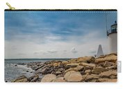 Goat Island Lighthouse Breath Of Fresh Air Carry-all Pouch