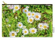 Goat Island Wild Daisies Maine Carry-all Pouch