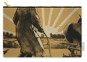 God Speed The Plough And The Woman Who Drives It Carry-all Pouch