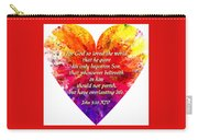 God's Heart Carry-all Pouch