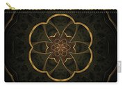 Gold Inlay Carry-all Pouch