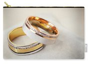 Gold Wedding Ring  Carry-all Pouch